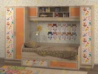 Детская комната Белоснежка-3 Коты (для девочки)