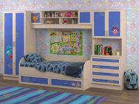 Набор мебели в детскую Белоснежка-5 Смешарики