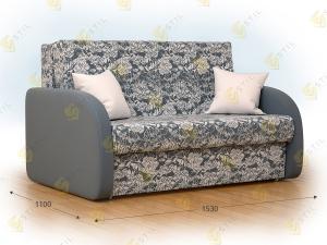 Прямой диван Бена 150