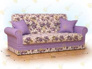 Прямой диван Бенуат