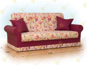Прямой диван Бенуат 235