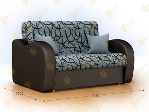 Прямой диван Болли