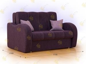 Прямой диван Болли 170