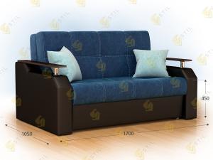 Прямой диван Браус