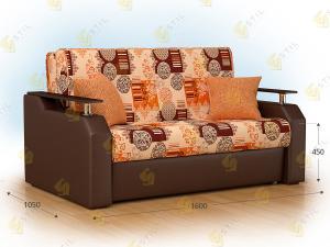 Прямой диван Браус 160