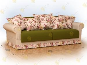 Прямой диван Бреджо