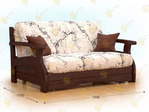 Прямой диван Бронте 120