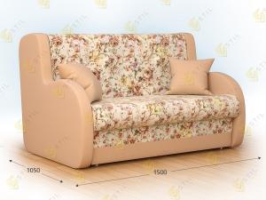 Прямой диван Бурма 150