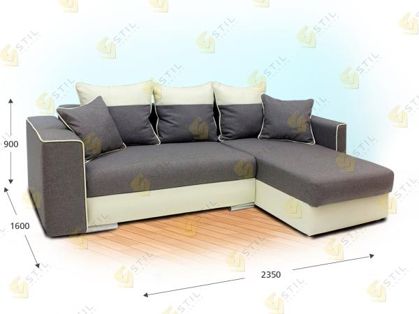 Угловой диван Дебюсси