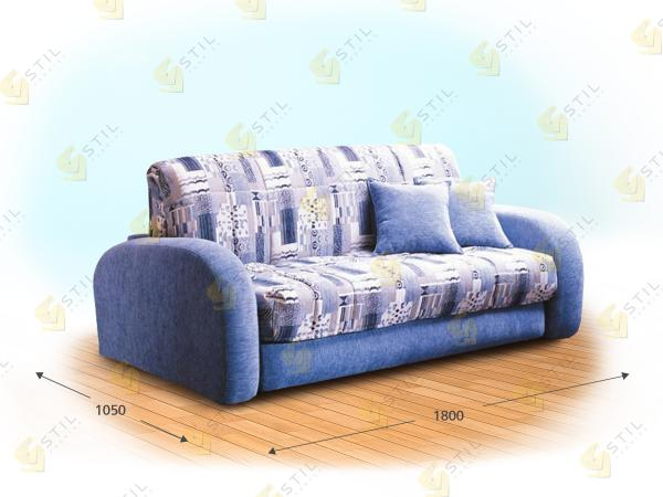 Прямой диван Джакозо