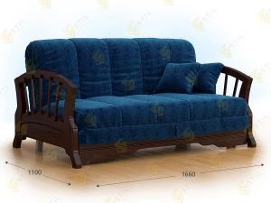 Прямой диван Фаджио 140