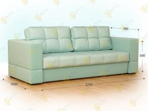 Прямой диван Форней