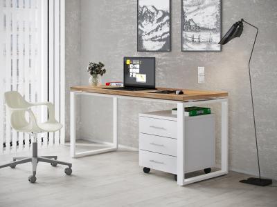 Компьютерный стол Гордон Вайт стайл 3