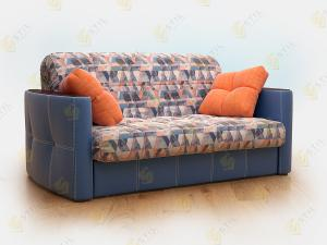 Прямой диван Граве 120 Сноу деним
