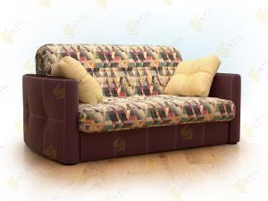 Прямой диван Граве 140 Сноу Аква