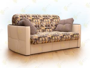 Прямой диван Граве 140 Сноу браун