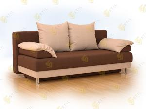 Прямой диван Инриго 210 Элва Шоколад