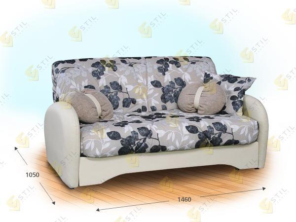 Прямой диван Каприччиозо