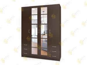 Распашной шкаф Лайт Люкс Ч48