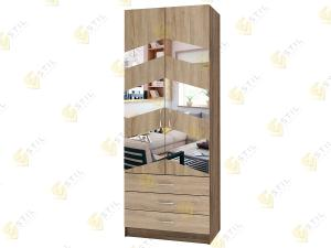Распашной шкаф Лайт Люкс Д60 на распродаже