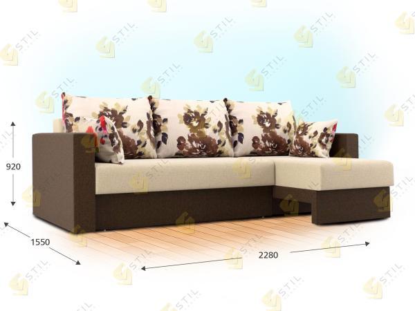 Угловой диван Леонковалло
