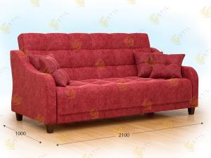 Прямой диван Манси
