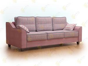 Прямой диван Марциале 210 Классик Чек 04