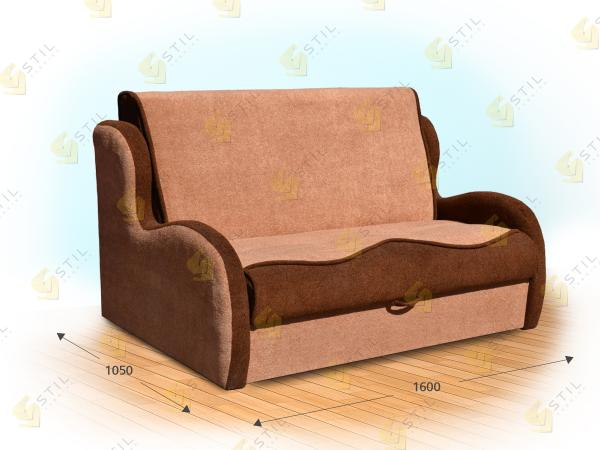 Прямой диван Модерато 160