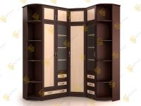 Угловой шкаф в спальню НКМ-1