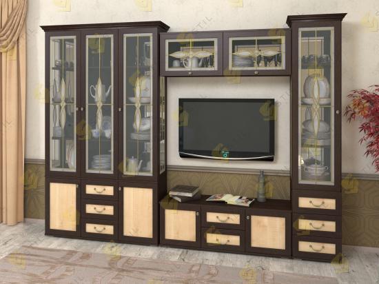 Шкаф витрина Набор Витраж 20В для посуды