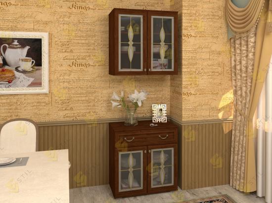Стенка для гостиной Набор Витраж 22В