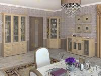 Стенка для гостиной Набор Витраж 7В