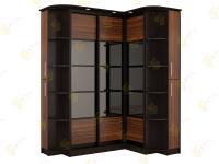 Угловой шкаф в спальню Нкм Версаль-4