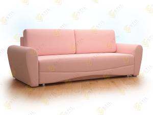 Прямой диван Нолард 190 Тринити Фламинго