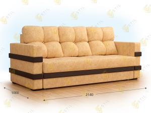Прямой диван Олдин