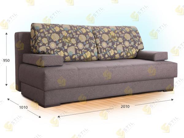 Прямой диван Поссибиле
