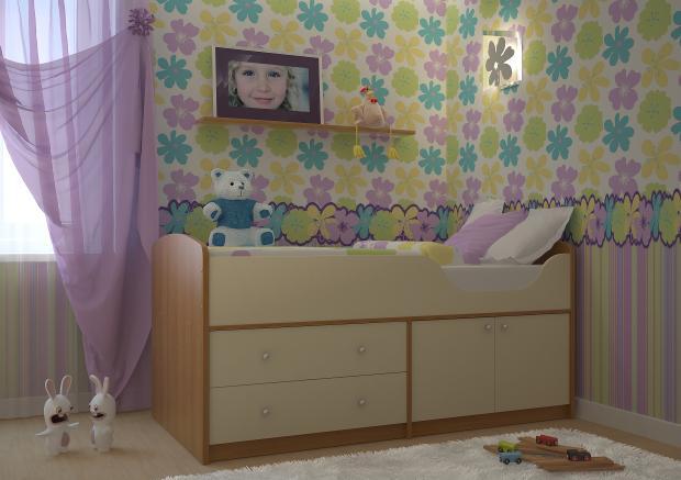 Детская комната Приют-мини (для девочки)