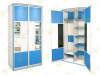 Распашной шкаф Радуга 2х-12