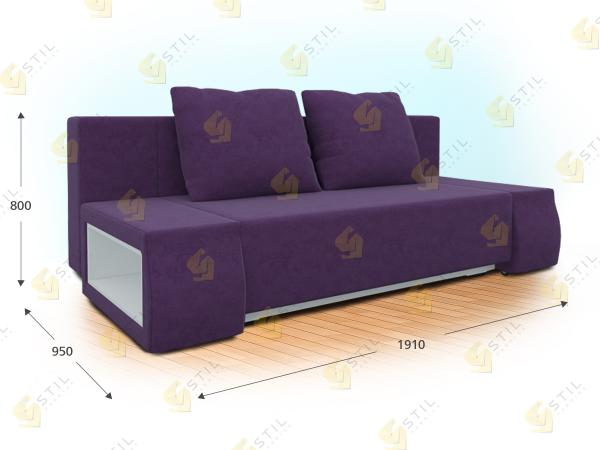 Прямой диван Речитандо