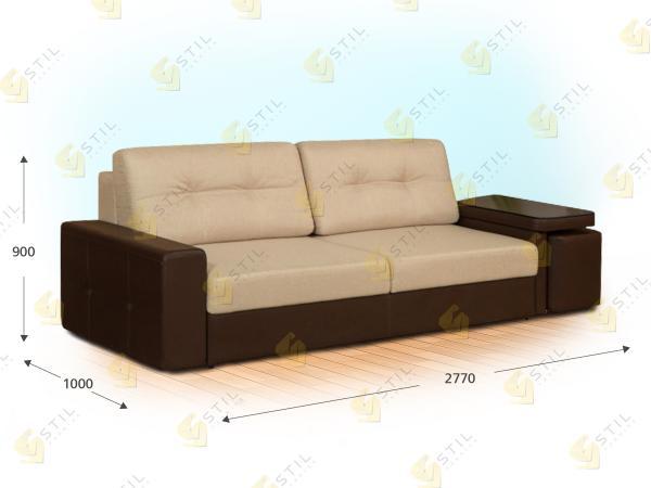 Прямой диван Ригорозо
