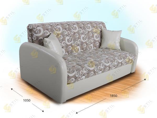 Прямой диван Семпличе