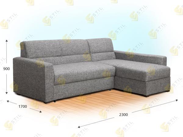 Угловой диван Сен-санс