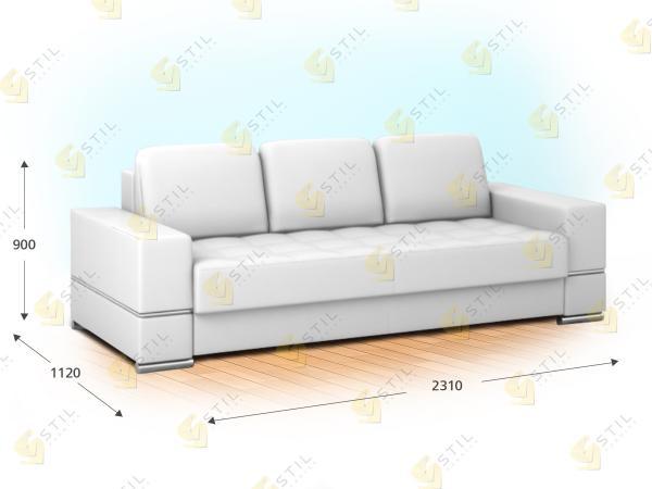 Прямой диван Симиле