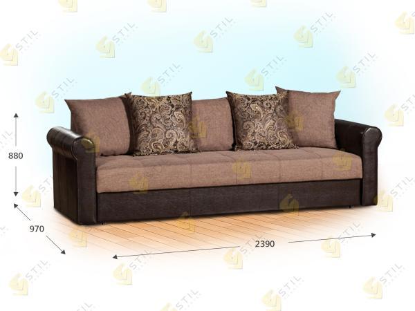 Прямой диван Состэнуто