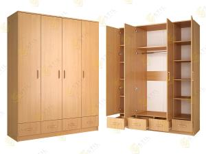 Распашной шкаф Стиль Ч-4л
