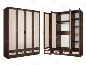 Распашной шкаф Стиль Ч-4м