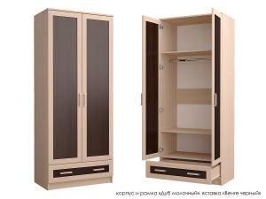 Распашной шкаф Стиль Д-2м