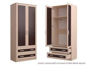 Распашной шкаф Стиль Д-3м