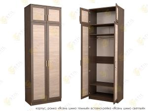 Распашной шкаф Стиль Д-5Р