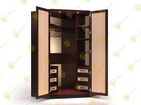 Угловой шкаф в спальню Стиль У-4м